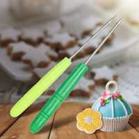 5Pcs Stainless Steel Biscuit Icing Sugar Needle Icing Sugar Needle Baking Pastry Tools