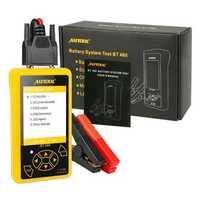 AUTOOL BT460 12V 24V Battery Meaurement Analyzer Heavy Duty Power Tester Car Diagnostic Scanner