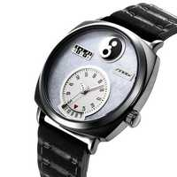 SINOBI 9772 Unique Dial Display Date Display Men Wrist Watch