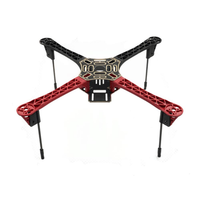 Upgrade F450 450mm Wheelbase Frame Kit with Highten Landing Gear for RC Drone