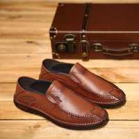 Men Soft Slip On Flats