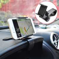 Universal 360 Degree Rotation Clip Car Dashboard Mount Holder for iPhone Xiaomi Mobile Phone