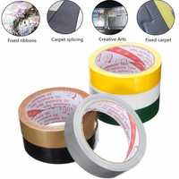 25mmX10m Strong Permanent Waterproof Cloth Tape Self Adhesive Repair Home Carpet Decor