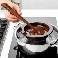 KCASA KC-SN04 Silicone Scraper Spatula Long Probe Digital Food Thermometer Chocolate Baking Tools