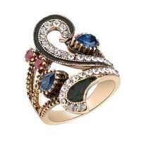 Luxury Rhinestone Women Rings