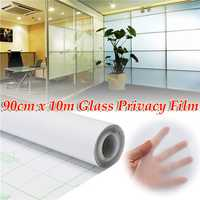 90cm 10M Frosted Window Tint Glass Privacy PVC Film For DIY Home/Office/Store