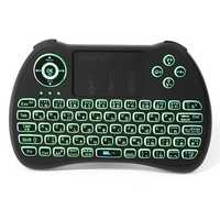 iPazzPort KP-810-21Q 2.4G Wireless Japanese Three Color Backlit Mini Keyboard Touchpad Air Mouse