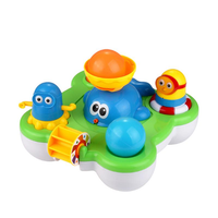 CIKOO Baby Fountain Bath Toy for Children Douche Kids Electric Floating Spraying Water Cartoon Toys