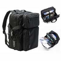 Men Anti-theft Briefcase Expandable Multi-pocket Bag