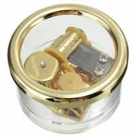 Circle in Gold Wind Up Music Box : YOU ARE MY SUNSHINE