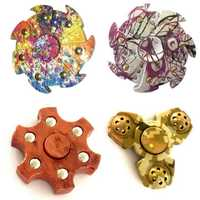 ECUBEE Colorful EDC Hand Spinner Gadget Bearing Fidget Tri Spinner Finger Focus Reduce Stress Gadget