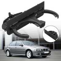 Black ABS Car Rear Dual Cup Drink Water Holder Mount Clip for BMW 5 Series E39 51168184520