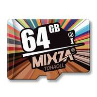 Mixza U3 64GB The Colorful Series High-speed Memory Card