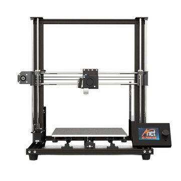 Anet® A8 Plus DIY 3D Printer Kit 300*300*350mm Printing Size With Magnetic Movable Screen/Dual Z axis Support Belt Adjustment
