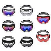 Skiing Anti-fog Goggles Windproof Sunglasses Snowboard Bike Motorcycle Eyewear