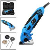 220V 400W Multi-function Mini Circular Saws Set DIY Projects Multi-purposed Cutting Power Tool