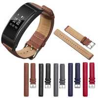 Leather Watch Band Replacement for Huawei TalkBand B3