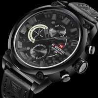 NAVIFORCE 9068 Waterproof Calendar Casual Men Wrist Watch