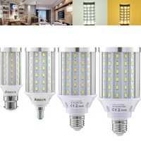 ARILUX® E27 E14 B22 12W 18W 25W 30W SMD 5730 Pure White Warm White LED Corn Light Bulb AC85-265V
