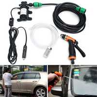 12V 36W Electric High Pressure Self Priming Auto Wash Water Pump Car Washer Set