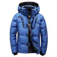 Mens Winter Outdoor Thick Warm Down Jacket Insulated Parka