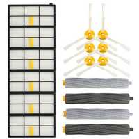 16pcs Vacuum Cleaner Accessories Kit Filters and Brushes for 800 900 Series Vacuum Cleaner