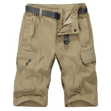 Customized Vesion Mens Cargo Shorts Water Repellent Quick Drying Breathable Casual Shorts
