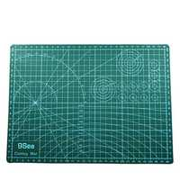 Mrosaa A3 PVC Cutting Mat Patchwork Cut Pad DIY Tool Cutting Board Double-sided Self-healing