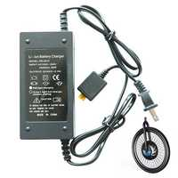 iMortor 12.6V5A Li-ion Polymer Battery Charger for iMortor 1.0/ iMortor 2.0 Intelligence Bicycle Front Wheel
