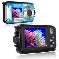 XANES HD 1080P 24MP Double Screen 16X Zoom Digital Camera LED Flashlight Waterproof