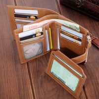 Women Faux Leather Retro Personalized Wallet Card Holder Coi