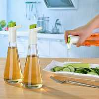 Creative Swan Shape Controllable Oiler Glass Soy Sauce Seasoning Bottle Kitchen Storage