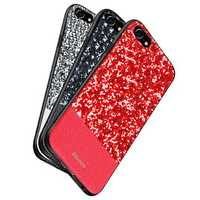 DZGOGO Diamond Bling PU Leather Protective Case for iPhone 6Plus/6sPlus