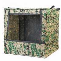 Men's Portable Foldable Outdoor Box-type Airsoft Gun Shooting Game Target Case