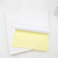 JS JS-A4P 100 Sheets/Lot A4 Adhesive Sticker Printing Paper A4 White Blank Sticker Paper Label Printer Paper
