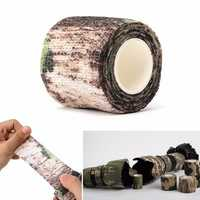 5CM X 4.5 Military Camouflage Camo Tape Stealth Wrap Hunting Camping Waterproof