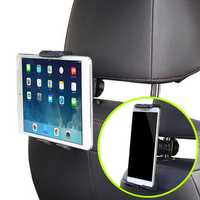 Universal 360° Car Back Seat Head Rest Mount Holder Stand For 3.5-11 Inches Smartphone Tablet PC