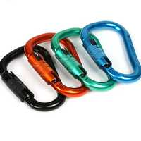 XINDA Q9703 Quick-hanging Downhill Safety Caving Automatic Master Lock Pear-type HMS Climbing
