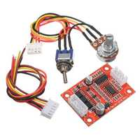 DC 12V Brushless Motor Driver Controller Board Kit For Hard Drive Motor / Pump