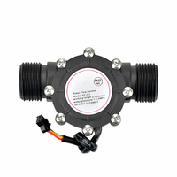 YF-S201 Flow Meter/4 points G1/2 Interface Hall Flowmeter Water Flow Sensor