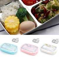 304 Stainless Steel Camping Portable Lunch Box Food Heating Insulation Picnic Food Container