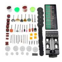 134pcs Electric Grinding Drill Accessories Set Mini Rotary Power Drills Multifunction Tools Kit