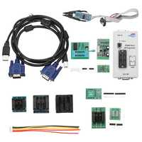 RT809F LCD Display ISP Programmer With SOP8 Test Clip 1.8V Adapter TSSOP8/SSOP8 10 Adapters