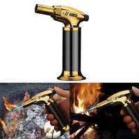 IPRee® Inflatable Lighter Windproof Camping BBQ Welding Torch Flame Portable Ignitor Starter