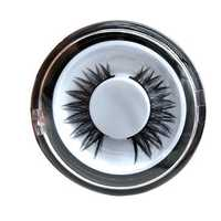 1Pair 3D Black Thick Lenthening False Eyelashes