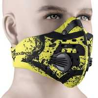 ROCKBROS LF0390 Cycling Running Outdoor Sport Face Mask Activated Carbon Anti-PM2.5 Five-fold Filtering