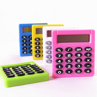 Pocket Cartoon Mini Calculator Handheld Pocket Type Coin Batteries Calculator