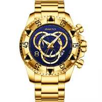 GIMTO GM259 Stainless Steel Band Quartz Watch