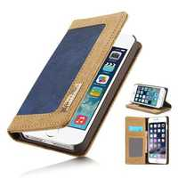 CaseMe Card Wallet Leather Flip Stand Anti-dirt Case Cover For iPhone 6 Plus & 6s Plus
