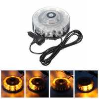 30W LED Car Emergency Strobe Light Beacon Flashing Warning Lamp Amber